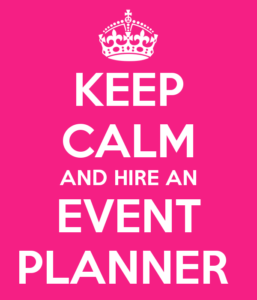 Need The Services Of An EVENT PLANNER?