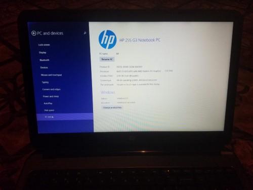 HP Laptop 25,000 Negotiable