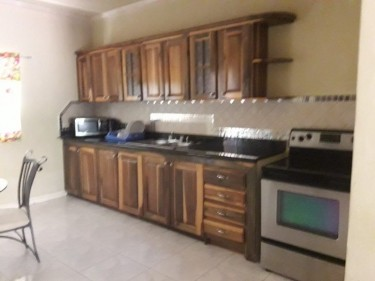 FURNISHED 2 BEDROOM 1.5 BATHROOM TOWN HOUSE