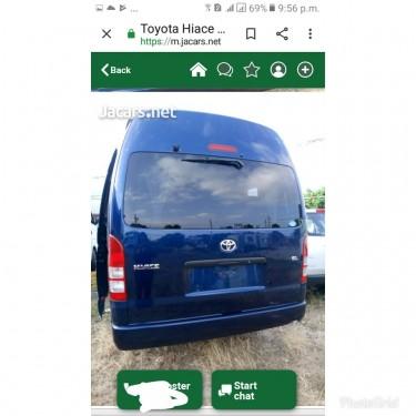 2011 Toyota Hiace Gl