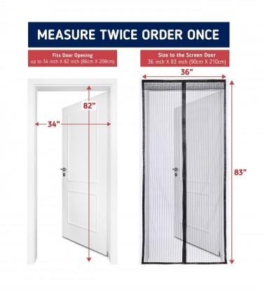 Magnetic Door Mesh/ Magnetic Screen Door
