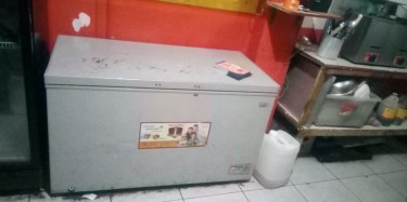 Two Coolers And A Deep Freezer