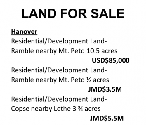 Residential /Development Lands