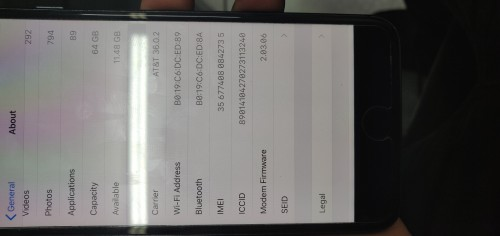 Iphone 8 Plus..netlocked To Sprint