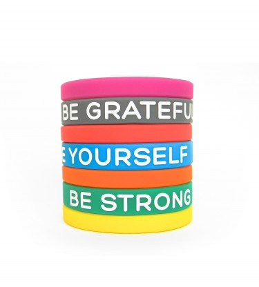 Motivational Wristbands For Kids, Teens And Adults