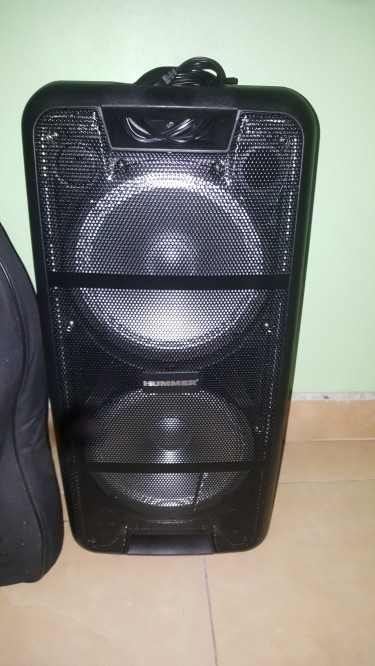 Hi Tech Powered Speaker Box