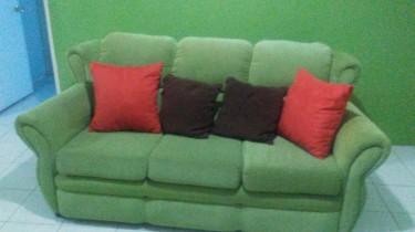 6 Burner Stove-Fridge-3 Piece Sofa Starting@15000k