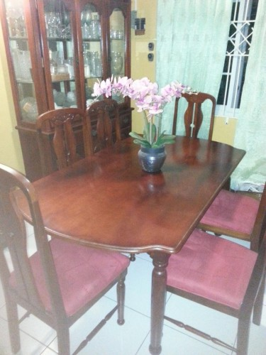 6PCS DINNING TABLE SET