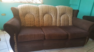 Three Piece Couch/Sofa For Sale (used)