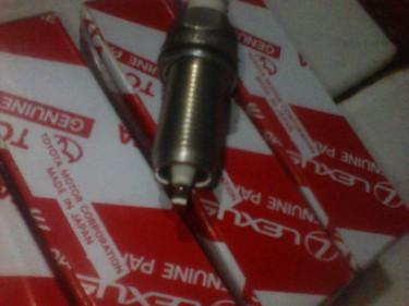 6 Iridium Original Spark Plugs Double Tips