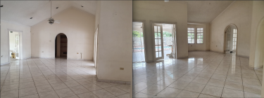 4 Bedroom House With Pool, Parking Garage.