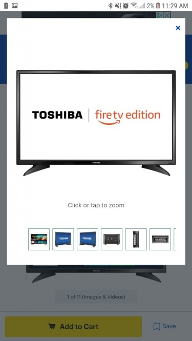 32 In Toshiba Smart Tv