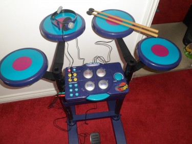 Electronic Percussion Rocking Rhythms Drummer