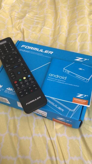 Formuler Z7 Plus Android Box