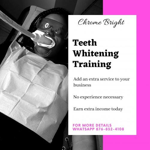 Salon Whitening Training