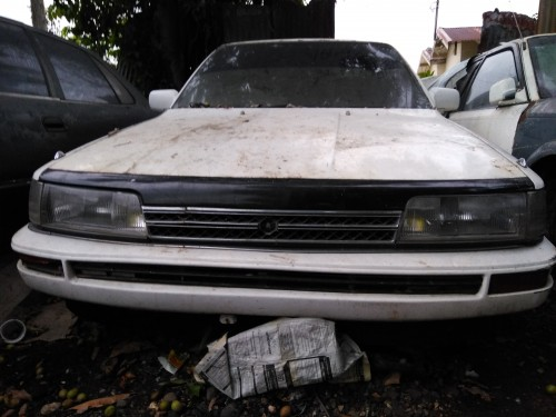 1990 Toyota Camry 3s, Scrapping.
