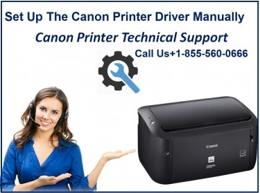 How To Set Up The Canon Printer Driver Manually?