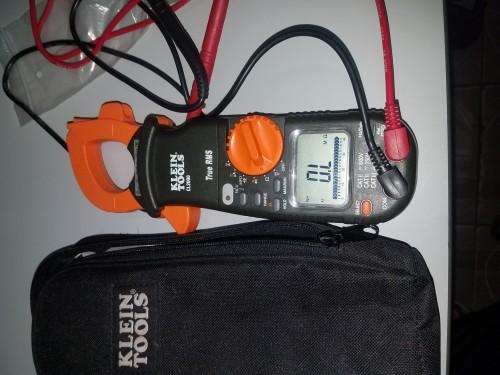 400A AC/DC True Rms Clamp Meter