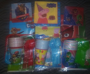 We Sell And Rent Party Supplies.