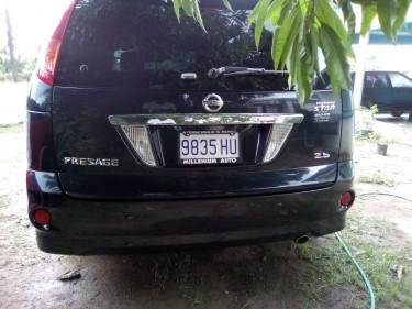 8 Seater Nissan Presage (2007)