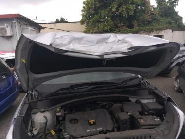 Damaged 2018 Hyundai Tucson