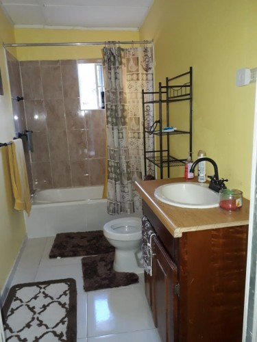 1 Bedroom Furnished Small House With AC
