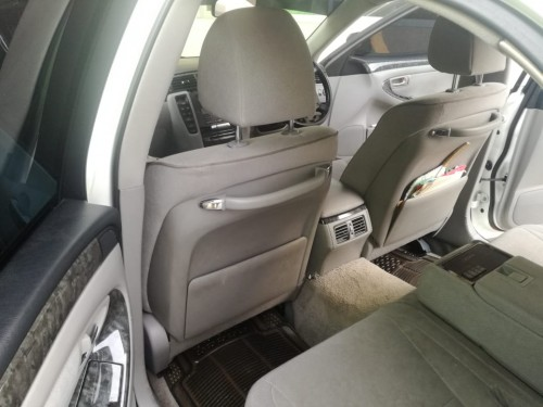 White 2008 Toyota Crown For Sale