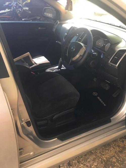 Grey Nissan Wingroad