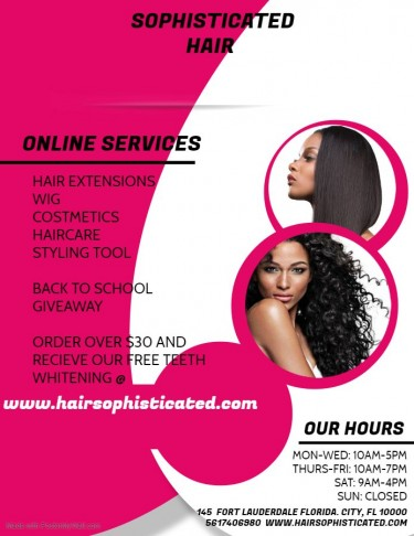 GRAND OPENING FOR JAMAICAS 1ST ONLINE HAIRSTORE