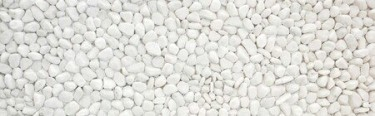 BEAUTIFUL WHITE GRAVEL FOR SALE BY THE BAG