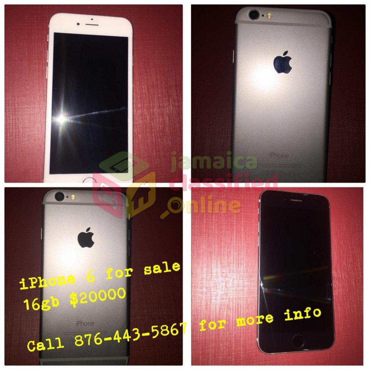 Renting Iphone: IPhone 6 16gb For Sale In Mandeville Manchester