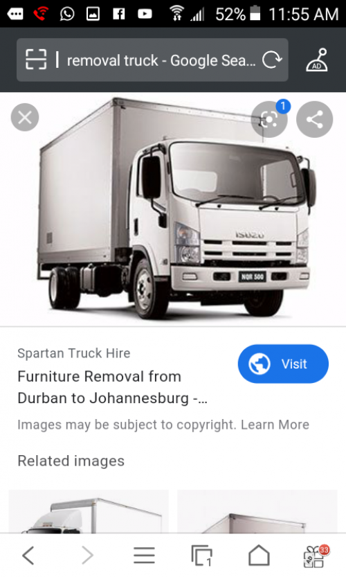 Removal Truck Is Here  Bed Dresser Stove Cheap Fan
