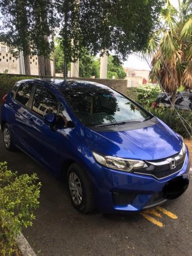 2016 Honda Fit ( Blue)