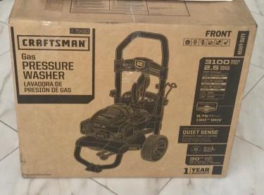 Brand New Craftsman 3100psi Gas Pressure Washer
