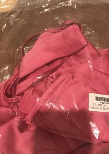 Brand NEW Pink Satin Dress
