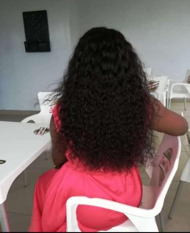 Water Wave Human 100% Real Hair. Reusable