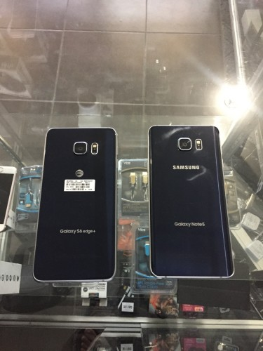 S6 Edge Plus 35k And Note 5 32k