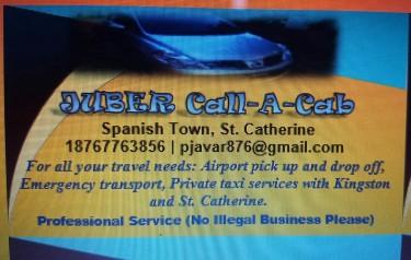 JUBER Call-a-Cab Private Taxi Service