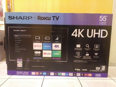 SHARP SMART 4K UHD TV