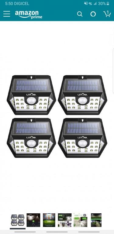 Solar Led Outdoor Lights