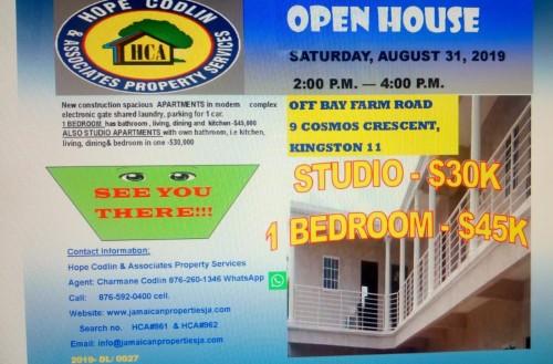 1 Bedroom Studio - Open House Today 2 To 4pm