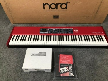 Nord Piano 4 88-Key Stage Hammer-Action Keyboard