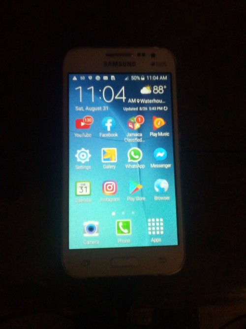 Galaxy Core Prime For Sale Fully Function Glas Cra