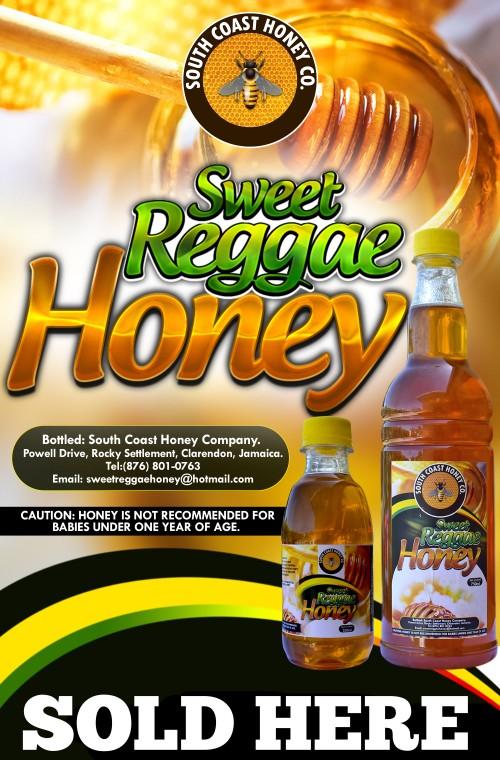 750ml Bottle Of Raw Honey