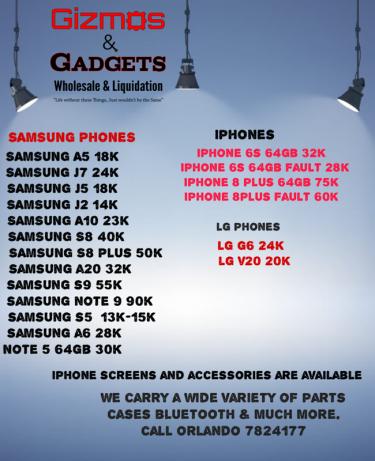Samsung Lg Iphones