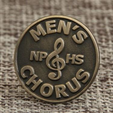 Chorus Lapel Pins