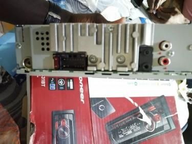 Car Power Amplifier And Pioneer Radio