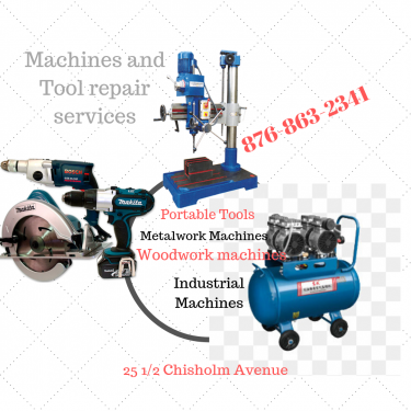 Machines And Tools Repair Services