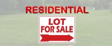 Residential Corner Lot, 3751 Sq Ft
