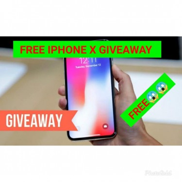 FREE IPHONE X MESSAGE ME FOR MORE INFO